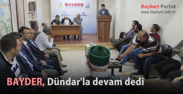 BAYDER, Dündar'la devam dedi
